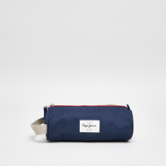 Pepe Jeans Paul Blue Printed Trolley Backpack and Pencil Case