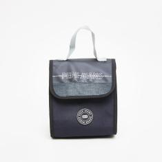 Pepe Jeans Ason Black Printed Lunch Bag