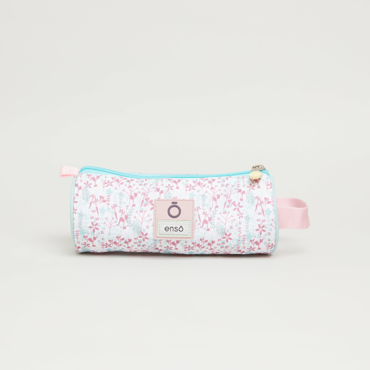 Enso Secret Garden Printed Pencil Case with Zip Closure