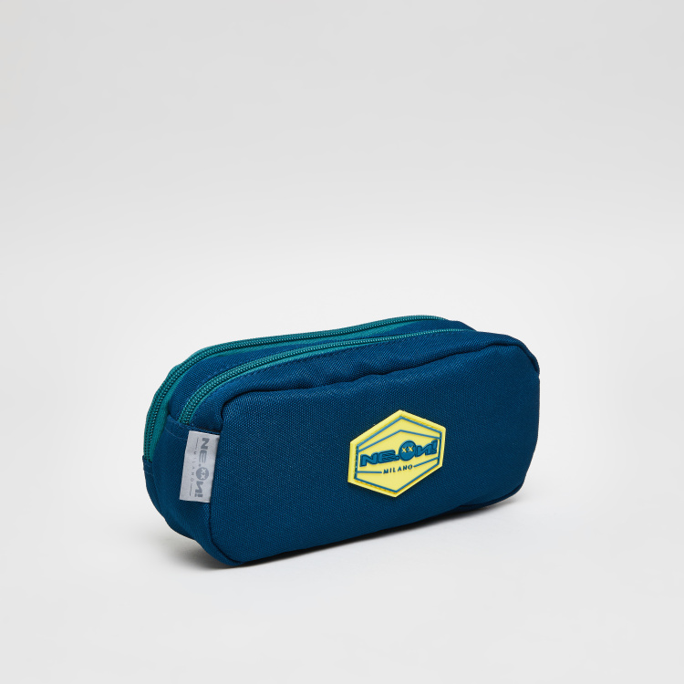 Printed Pencil Pouch with Zip Closure
