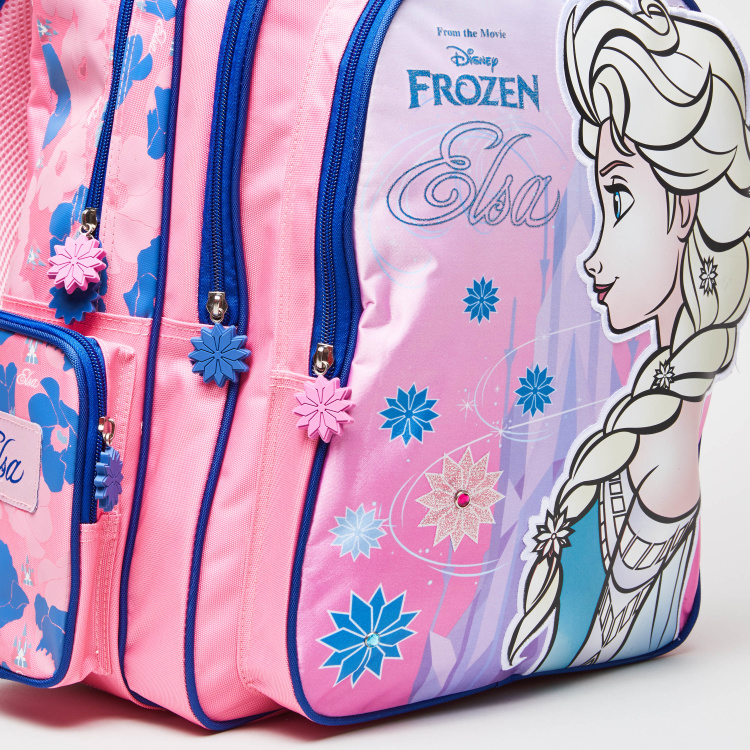 Frozen Printed Backpack - 32x15x45.7 cms
