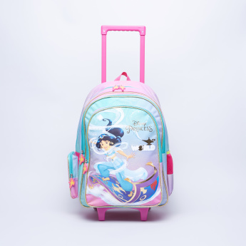 Disney Printed Trolley Backpack with Zip Closure - 32x15x45.7 cms