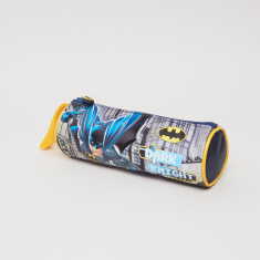 Batman Printed Round Pencil Case