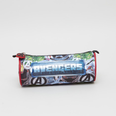 Avengers Printed Round Pencil Case