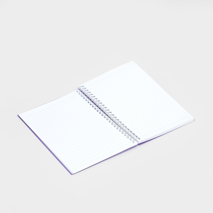 Printed Spiral Bound Notebook with Textured Finish