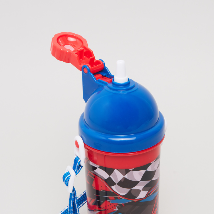 Bomi Racing Printed Water Bottle