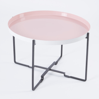 Round Coffee Accent Table - 57 cms