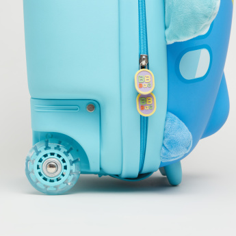 Printed Airplane Trolley Bag - 36x25x47 cms