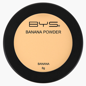 Bys Banana Pressed Powder - 8 gms