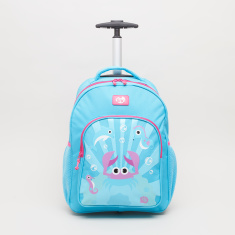 Tinc Ocean Crab Trolley Backpack - 30x14x40 cms