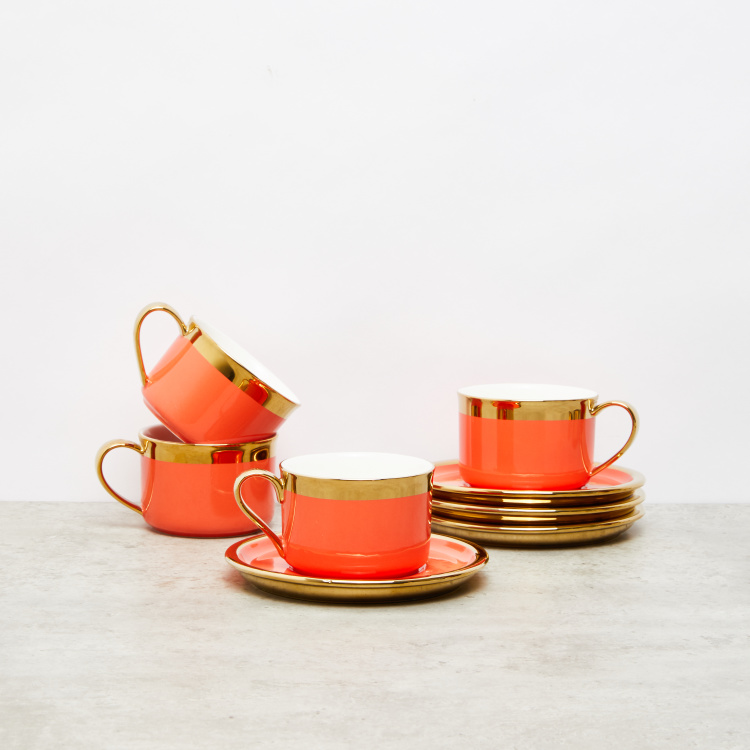 Davy Cup and Saucer Set
