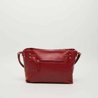 Sasha Rococo Satchel Crossbody Bag with Cutout Detail