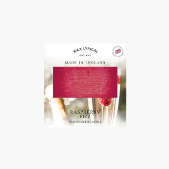 Wax Lyrical Raspberry Fizz Fragrance Pillar Candle - 7x7x7 cms