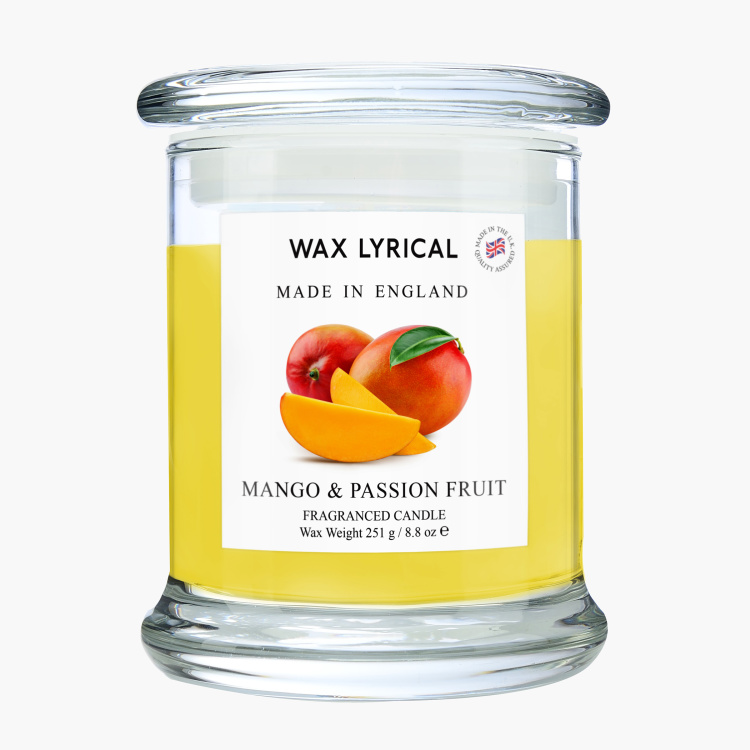 Wax Lyrical Mango and Passion Fruit Filled Jar Candle - 660 gms