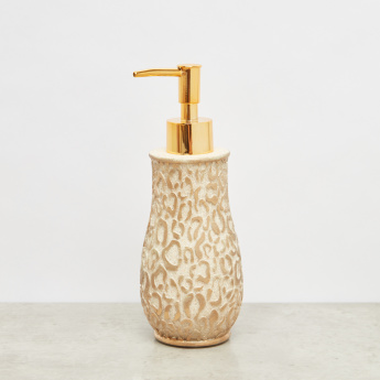 Leopard Pattern Embossed Lotion Dispenser