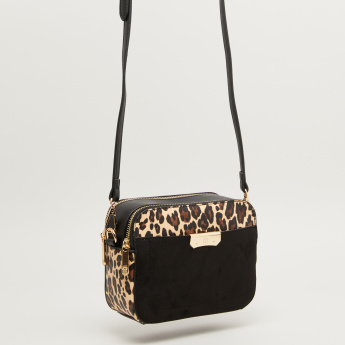 Bessie London Crossbody Bag with Detachable Sling Strap