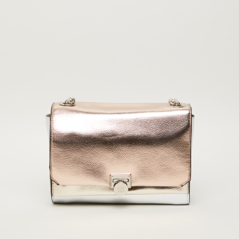 Bessie London Textured Crossbody Bag
