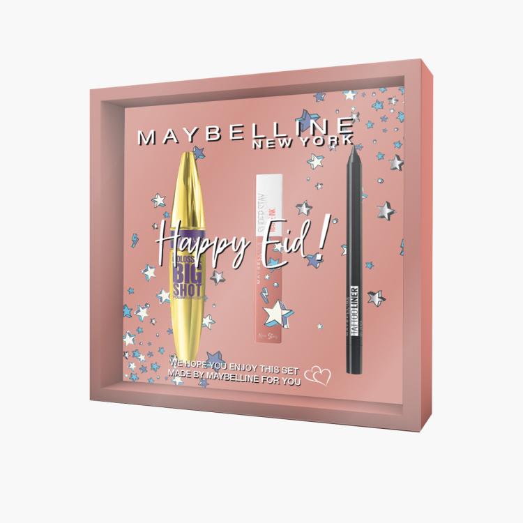 Maybelline New York 3-Piece Campaign Coffret