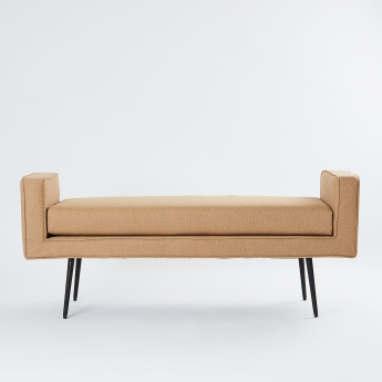 Leslie Chinelle 2-Seater Sofa - 138x44x59 cms