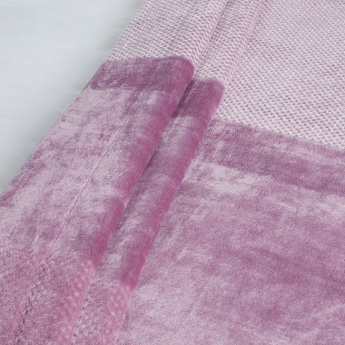 Textured Velvet Reversible Blanket - 240 x 220 cms