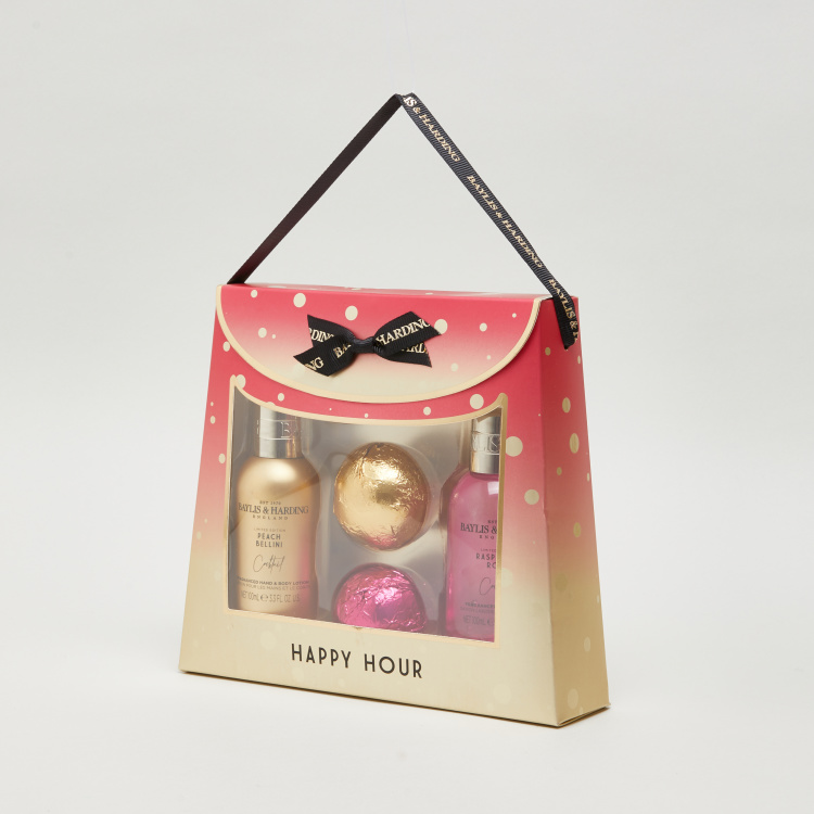 Baylis & Harding Cocktail Hour Hand Bag 6-piece Gift Set