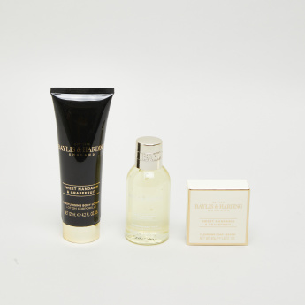 Baylis & Harding 3-Piece Sweet Mandarin and Grapefruit Gift Set