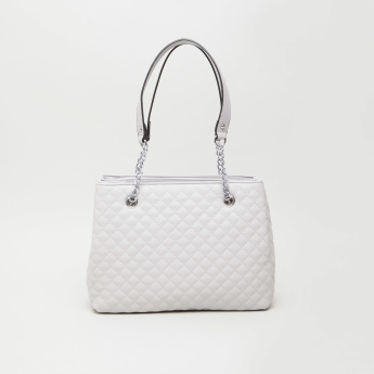 Sasha Kod Quilted Tote Bag