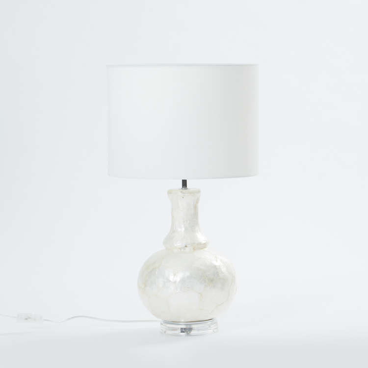 Glass Table Lamp - 16x29 cms