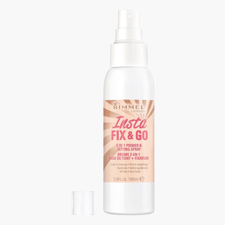 RIMMEL LONDON Insta Fix & Go 2-in-1 Primer and Setting Spray - 100 ml
