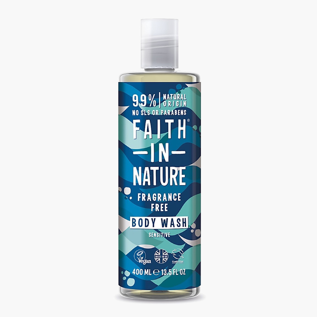 Faith in Nature Fragrancefree Body Wash - 400 ml