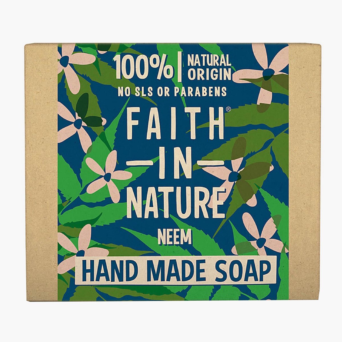 Faith in Nature Neem Soap - 100 gms