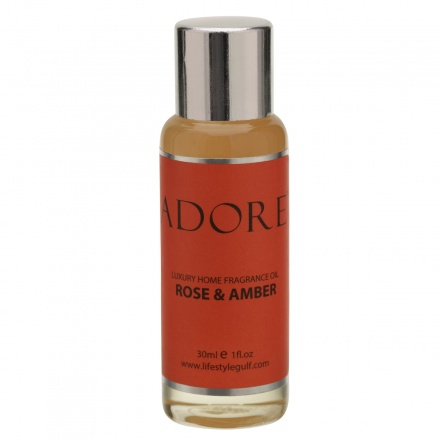 Adore Rose and Amber Fragrance Oil - 30 ml