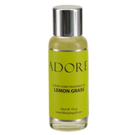 Adore Lemon Grass Fragrance Oil - 30 ml