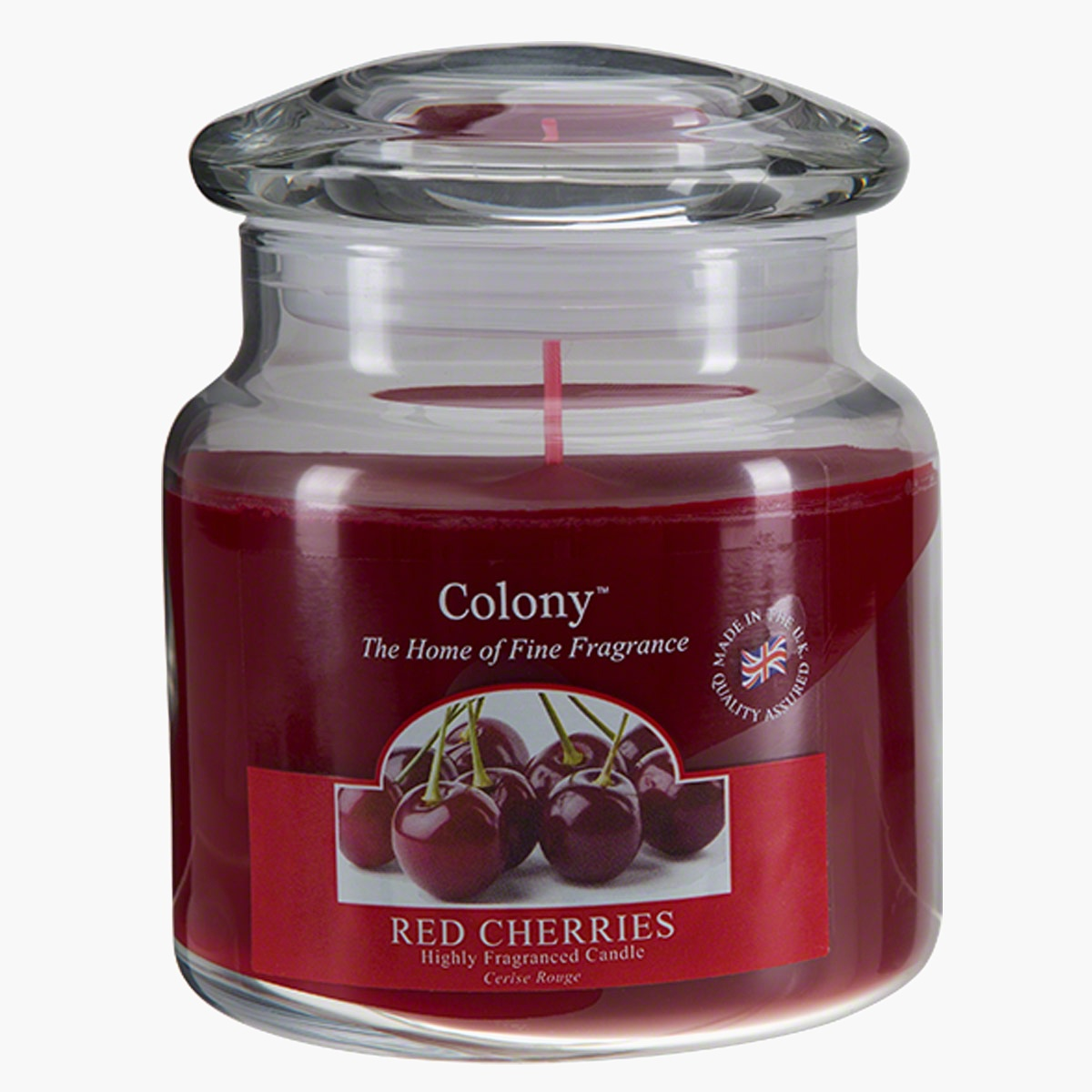 Colony Red Cherries Jar Candle