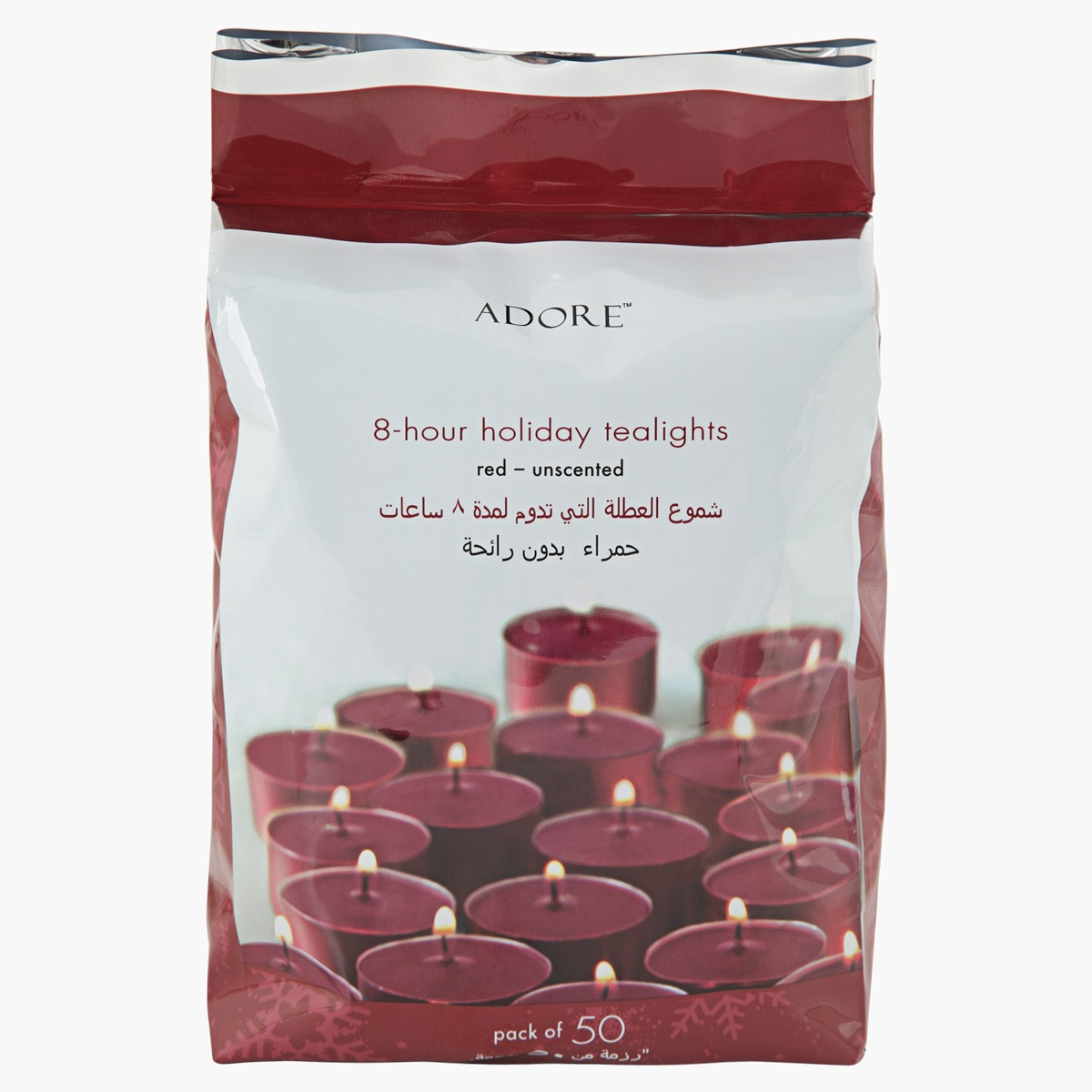 Adore 8-Hour Holiday Tealights