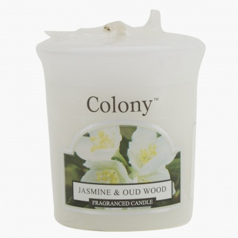 Wax Lyrical Jasmine & Oud Wood Votive