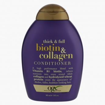 OGX Thick & Full Biotin & Collagen Conditioner - 385 ml