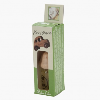 Boles d'olor Flor Blanco Hanging Car Fragrance