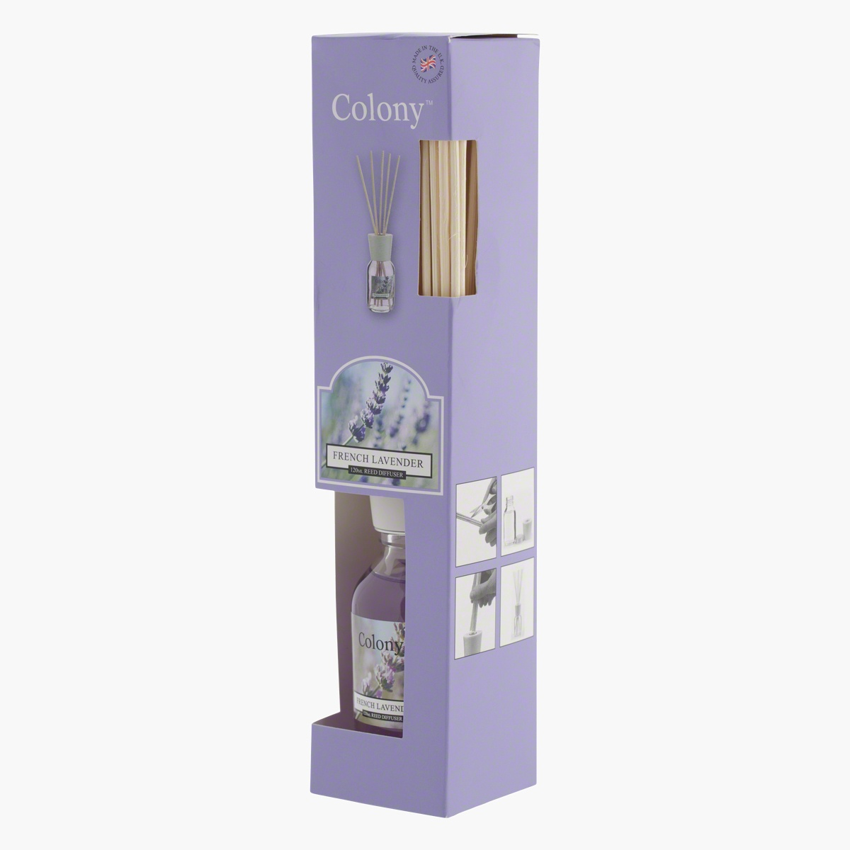 Colony French Lavender Reed Diffuser - 120 ml