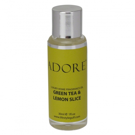 Adore Green Tea & Lemon Slice Home Fragrance Oil - 30 ml