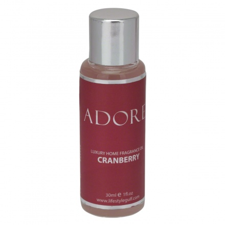 Adore Cranberry Home Fragrance Oil - 30 ml