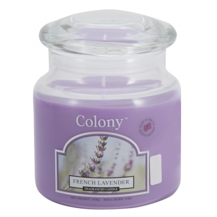 Colony French Lavender Jar Candle