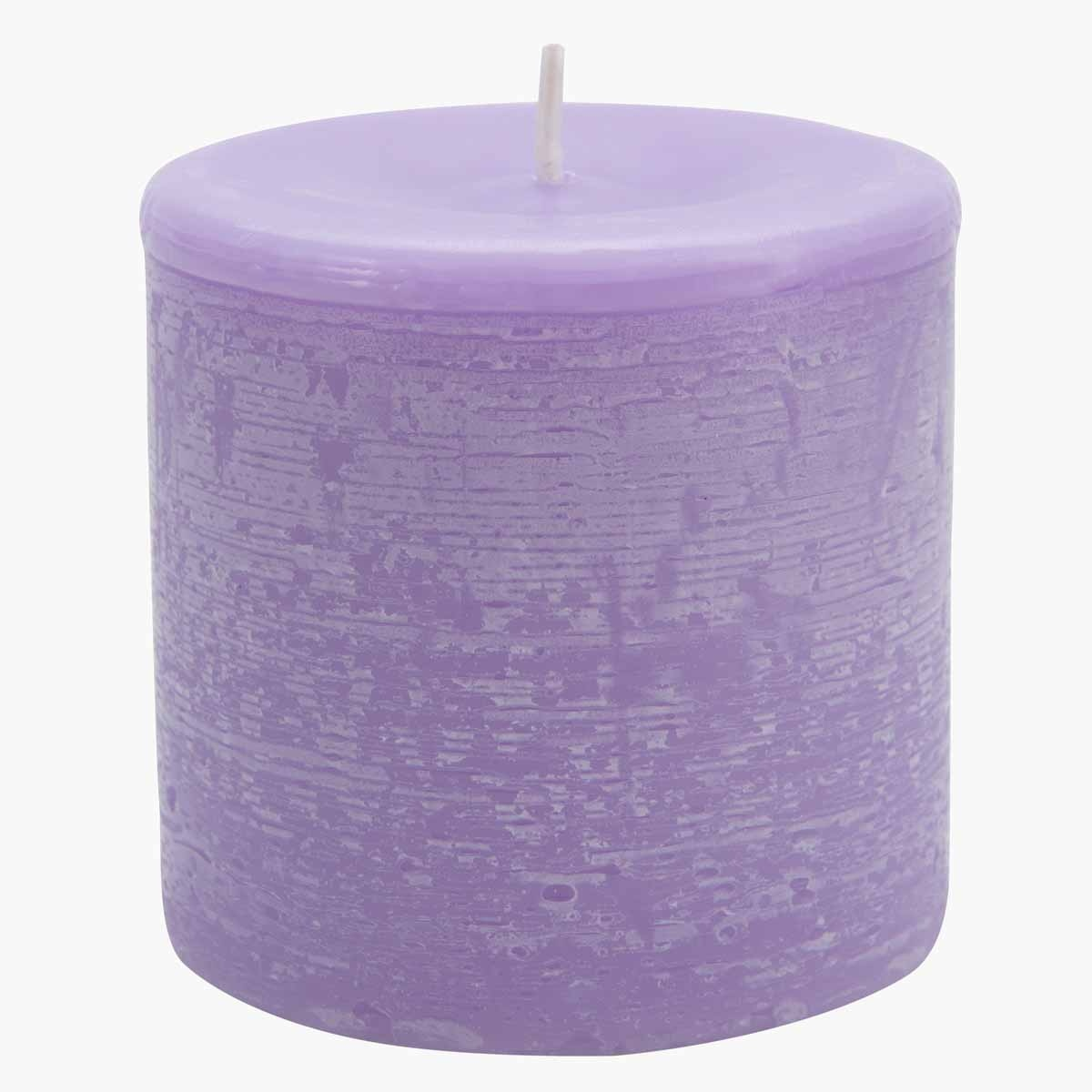 Colony French Lavender Pillar Candle