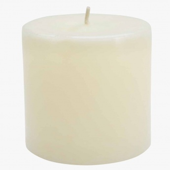 Colony Vanilla Pillar Candle