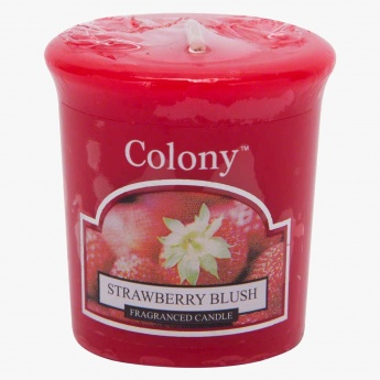 Colony Strawberry Blush Votive Candle