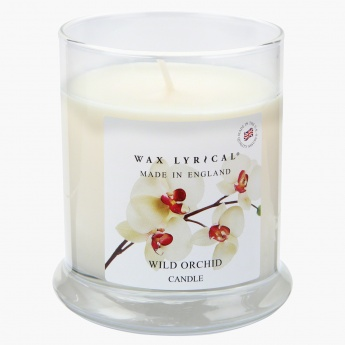 Wax Lyrical Wild Orchid Scented Jar Candle
