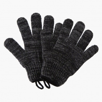 Bubbles Nylon Exfoliating Gloves