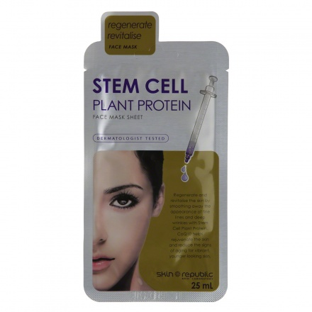 Stem Cel Plant Protein Face Mask Sheet